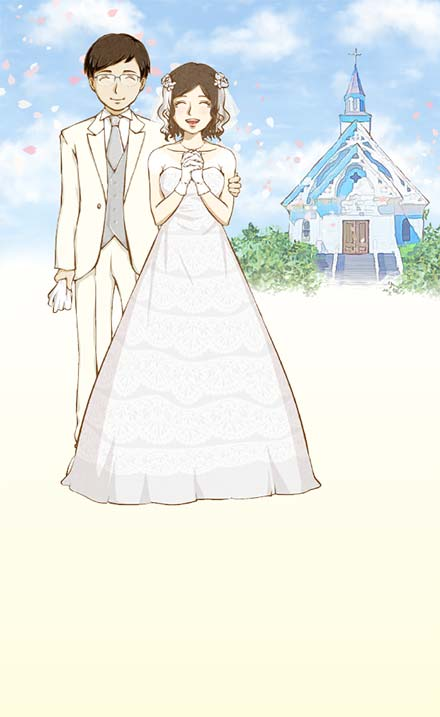 めでたくご結婚された会員の結婚式
